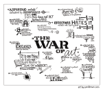 The War of Art – Visual Summary by Sunni Brown