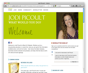 Jodi Picoult UK Website