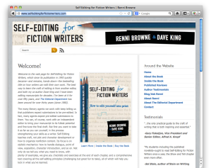 Self Editing For Fiction Writers Website