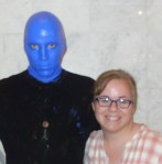 Blue Man and Me
