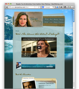Dani Pettrey website